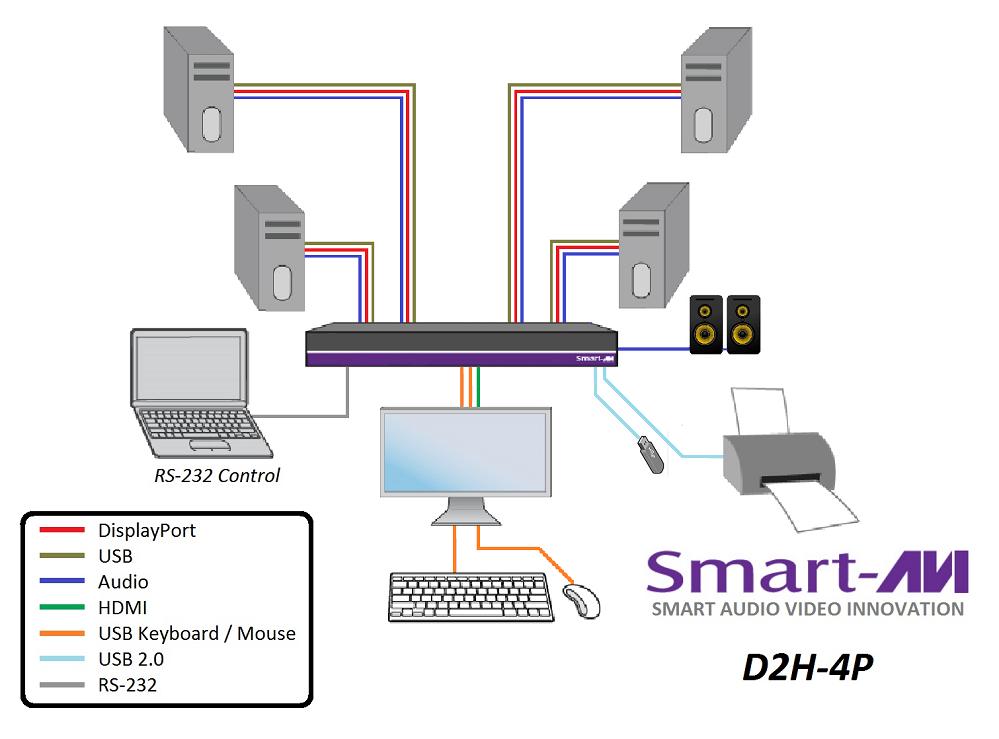 D2H-4P diagram