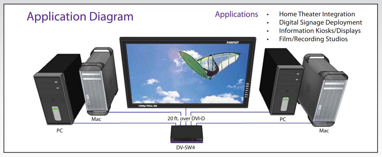 DV-SW4 diagram