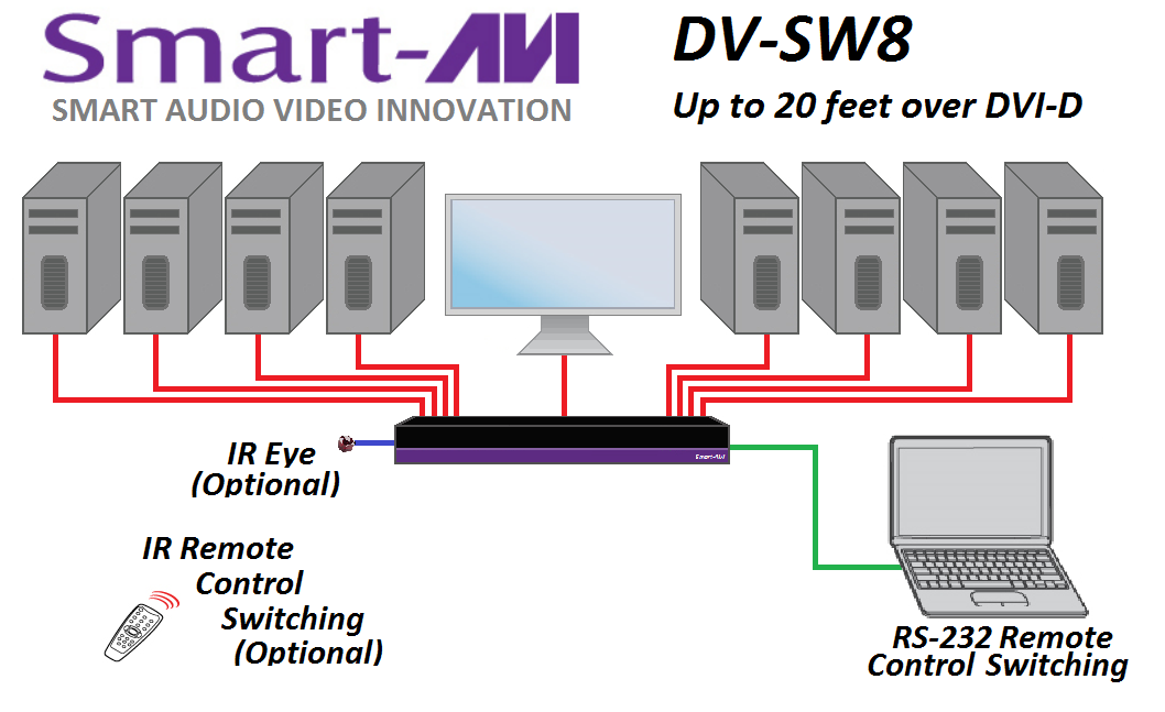 DV-SW8 diagram
