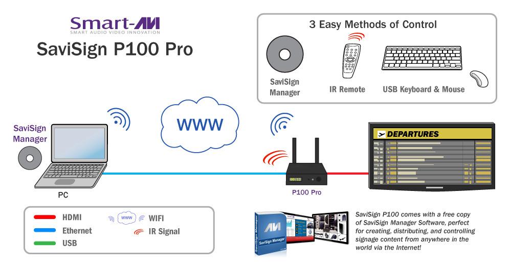 SaviSign P100 Pro diagram 1