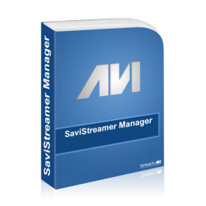 SaviStreamer Manager Software